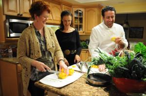 chef teaching