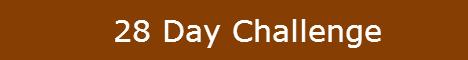 28 challenge banner